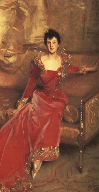 John Singer Sargent Mrs Hugh Hammersley France oil painting art