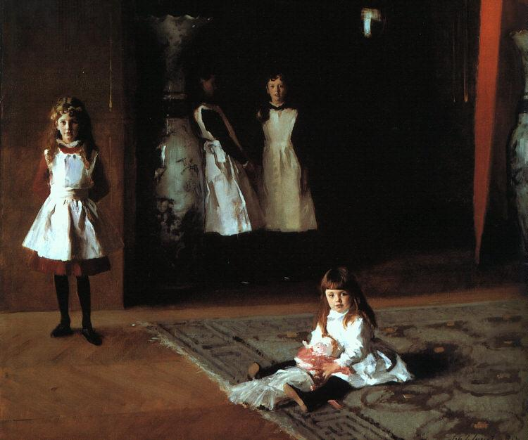 John Singer Sargent The Daughters of Edward Darley Boit France oil painting art