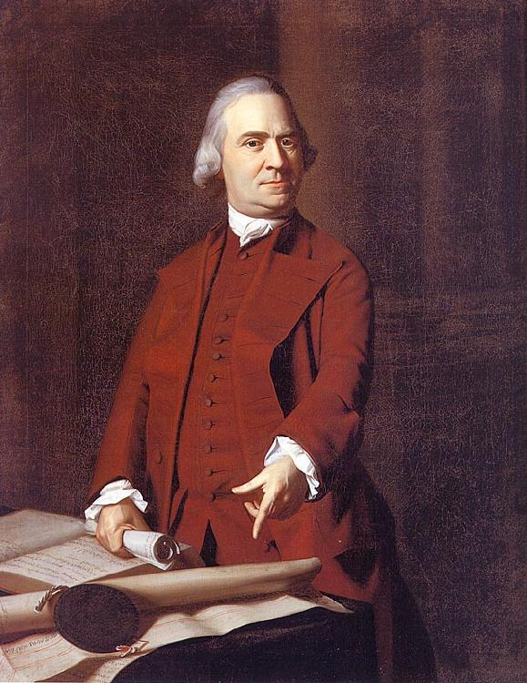 John Singleton Copley Samuel Adams France oil painting art