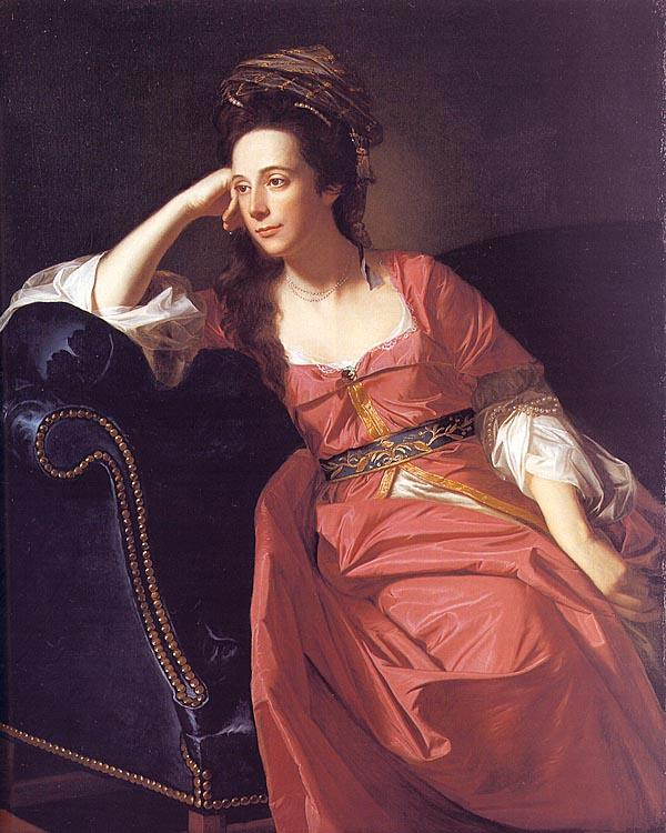 John Singleton Copley Mrs Thomas Gage France oil painting art