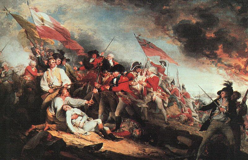 John Trumbull The Death of General Warren at the Battle of Bunker Hill on 17 June 1775 France oil painting art