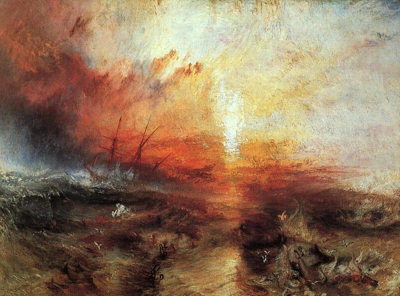 Joseph Mallord William Turner The Slave Ship oil painting image