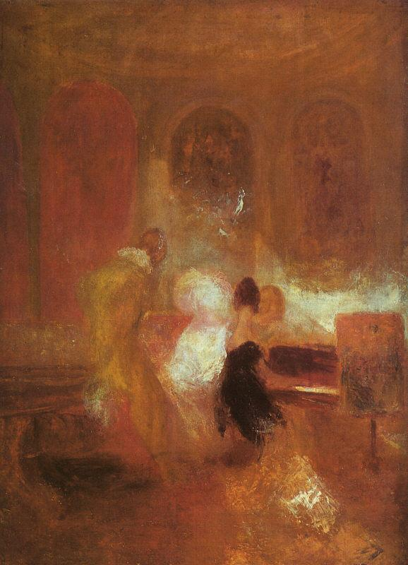 Joseph Mallord William Turner Music Party oil painting image