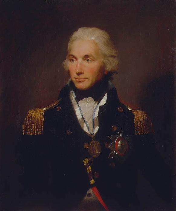 Lemuel Francis Abbott Rear-Admiral Sir Horatio Nelson_a oil painting image