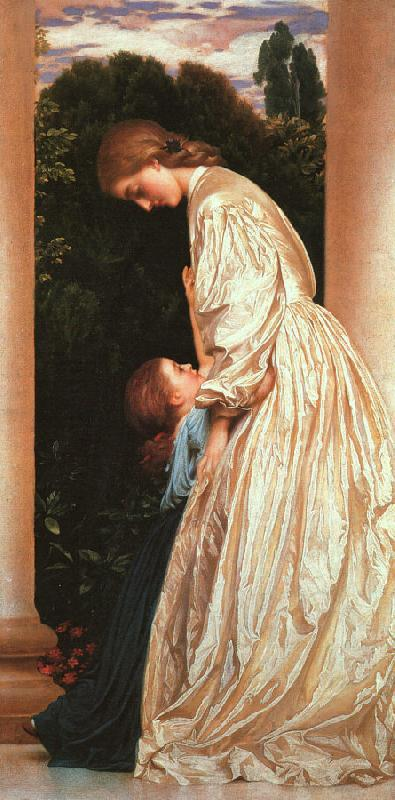 Lord Frederic Leighton Sisters oil painting image