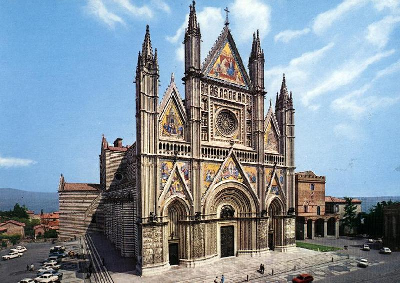 MAITANI, Lorenzo Facade of the Cathedral dh oil painting image