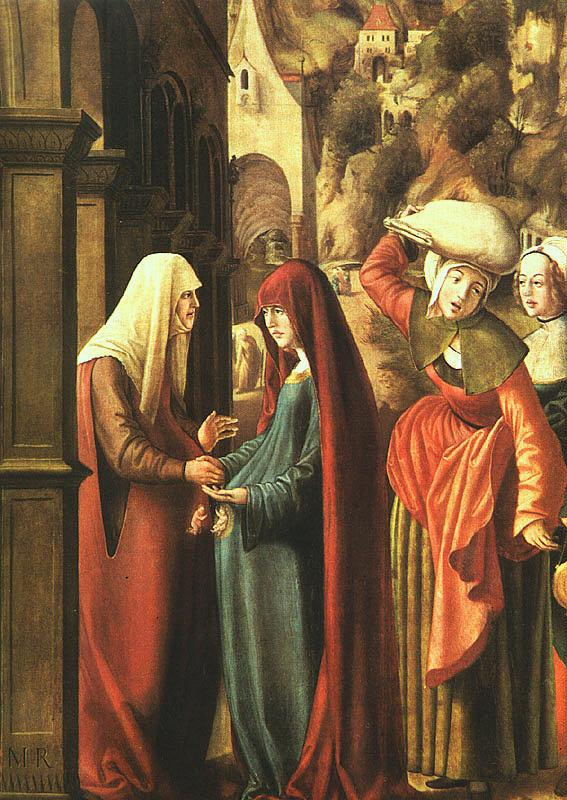 Marx Reichlich The Visitation France oil painting art