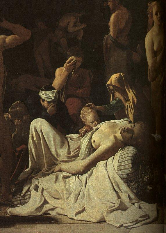 Michael Sweerts The Plague in an Ancient City France oil painting art