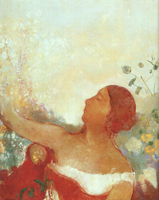 Odilon Redon The Predestined Child France oil painting art