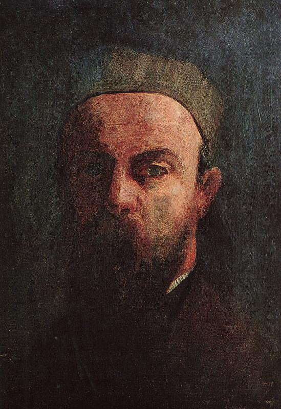 Odilon Redon Self Portrait  55 France oil painting art