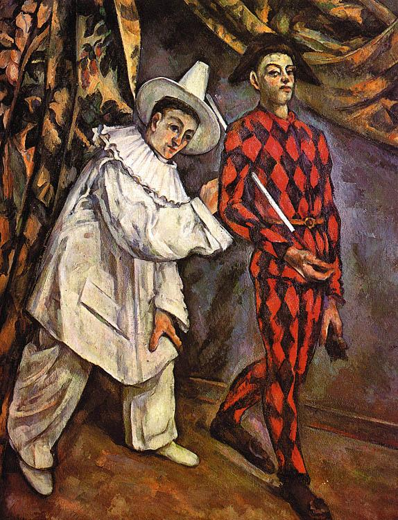 Paul Cezanne Mardi Gras oil painting image