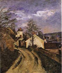 Paul Cezanne Dr Gachet's House at Auvers oil painting image