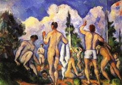 Paul Cezanne Bathers oil painting image
