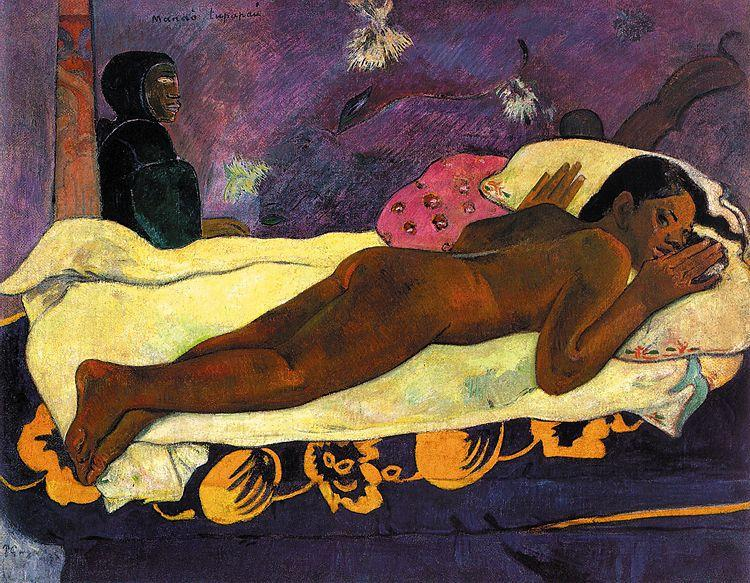 Paul Gauguin Manao Tupapau oil painting image