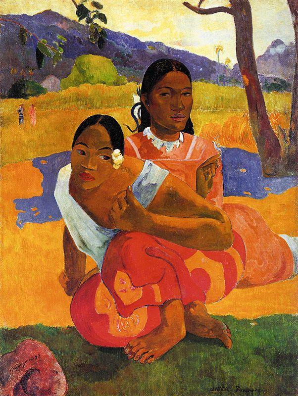 Paul Gauguin When Will You Marry oil painting image