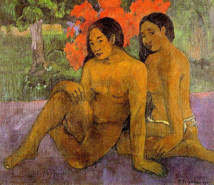 Paul Gauguin And the Gold of Their Bodies oil painting image