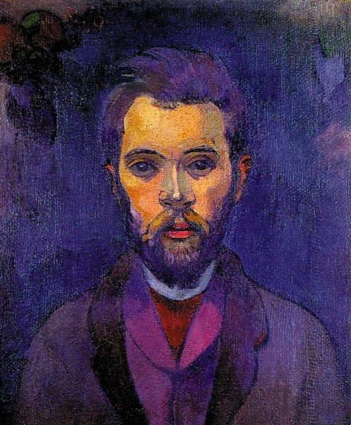 Paul Gauguin Portrait of William Molard oil painting image