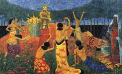 Paul Serusier The Daughters of Pelichtim oil painting image