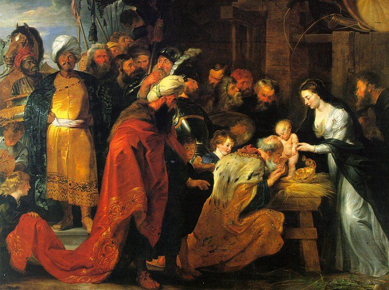 Peter Paul Rubens The Adoration of the Magi France oil painting art