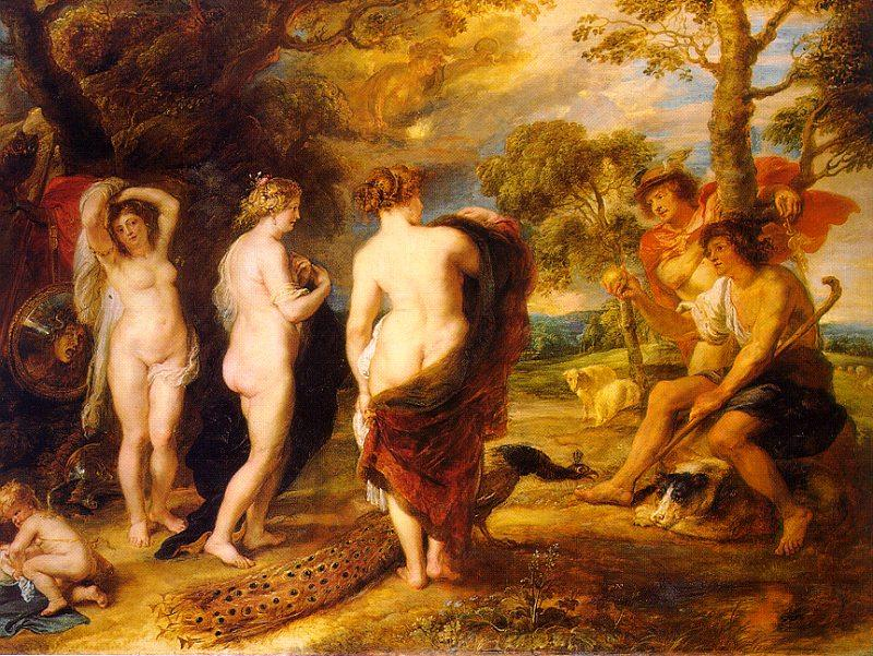 Peter Paul Rubens The Judgment of Paris France oil painting art