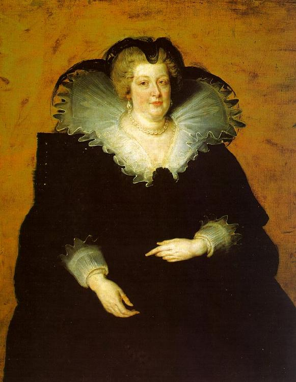 Peter Paul Rubens Portrait of Marie de Medici France oil painting art
