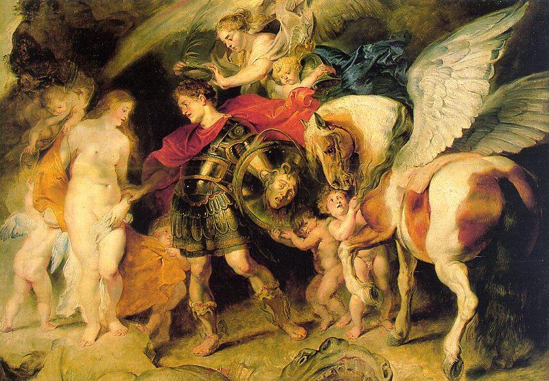 Peter Paul Rubens Perseus Liberating Andromeda France oil painting art