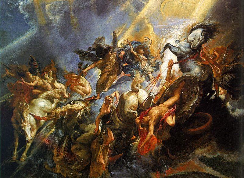 Peter Paul Rubens The Fall of Phaeton France oil painting art