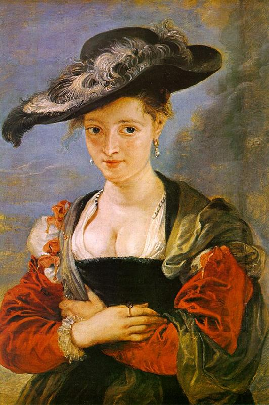 Peter Paul Rubens The Straw Hat France oil painting art