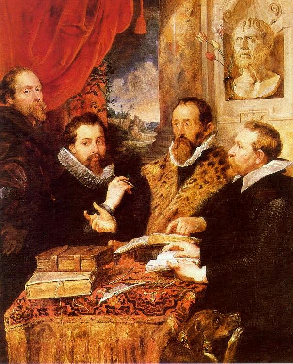 Peter Paul Rubens The Four Philosophers France oil painting art