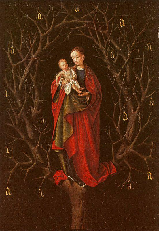 Petrus Christus Our Lady of the Barren Tree oil painting image