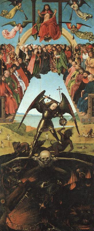 Petrus Christus The Last Judgment oil painting image