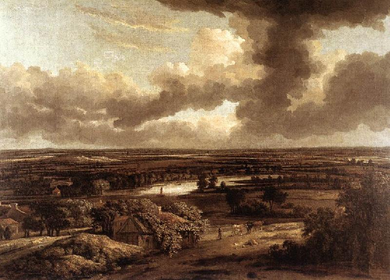 Philips Koninck Dutch Landscape Viewed from the Dunes oil painting image