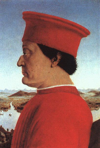 Piero della Francesca The Duke of Urbino oil painting image