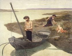 Pierre Puvis de Chavannes The Poor Fisherman oil painting image