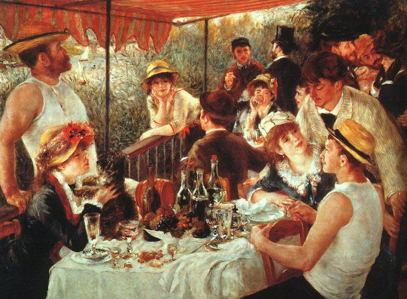 Pierre Renoir Luncheon of the Boating Party France oil painting art