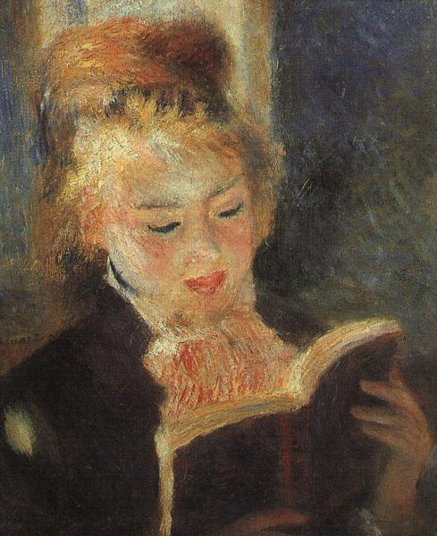 Pierre Renoir Woman Reading  fff France oil painting art