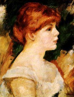 Pierre Renoir Suzanne Valadon France oil painting art