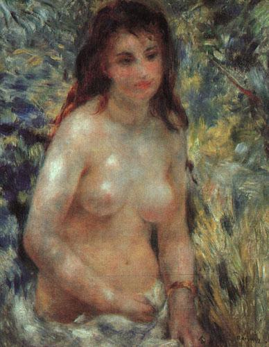 Pierre Renoir Study for Nude in the Sunlight France oil painting art