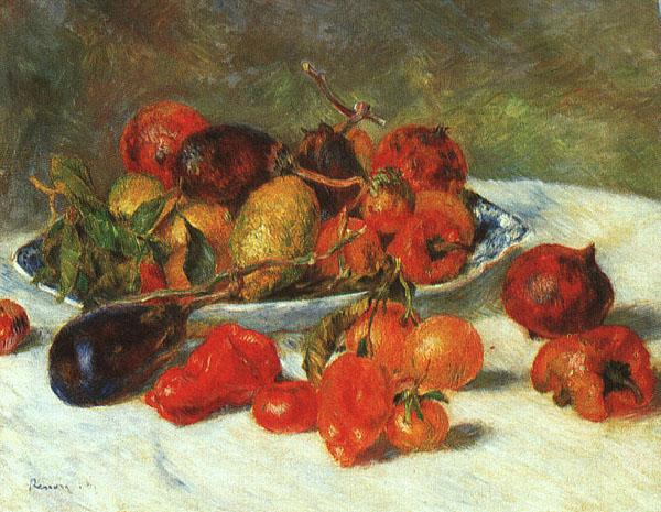 Pierre Renoir Fruits from the Midi France oil painting art