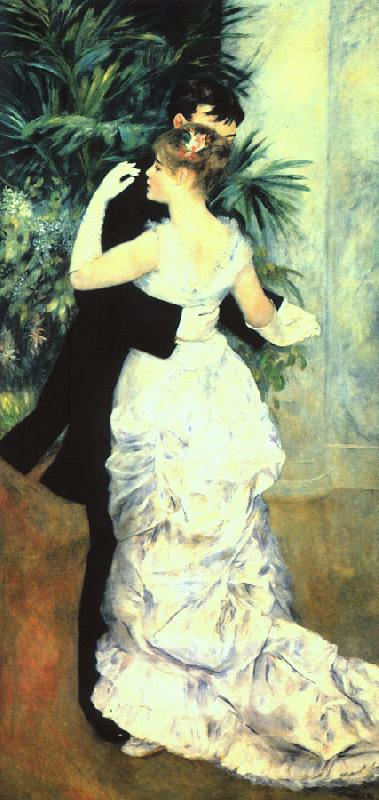 Pierre Renoir Dance in the Town France oil painting art