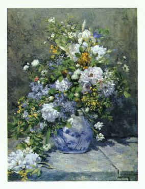 Pierre Renoir Spring Bouquet France oil painting art