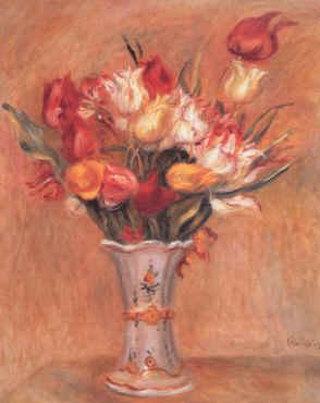 Pierre Renoir Tulipes France oil painting art