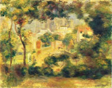 Pierre Renoir Sacre Coeur France oil painting art