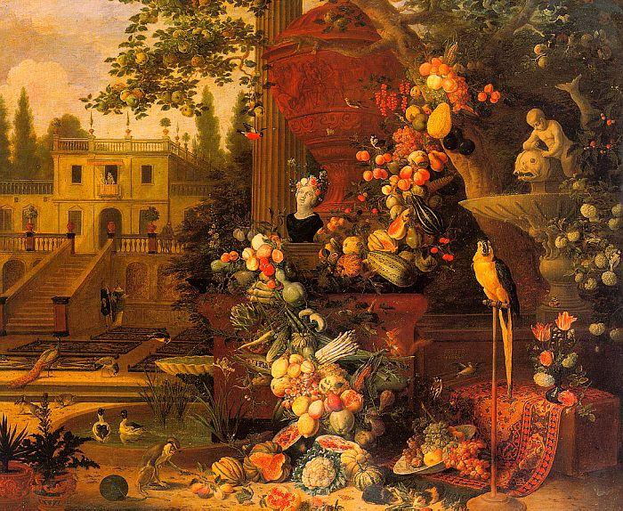 Pieter Gysels Garden oil painting image
