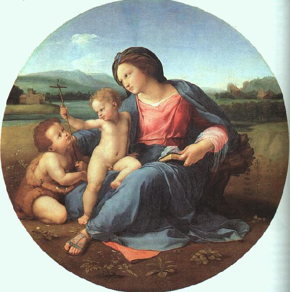 Raphael The Alba Madonna France oil painting art