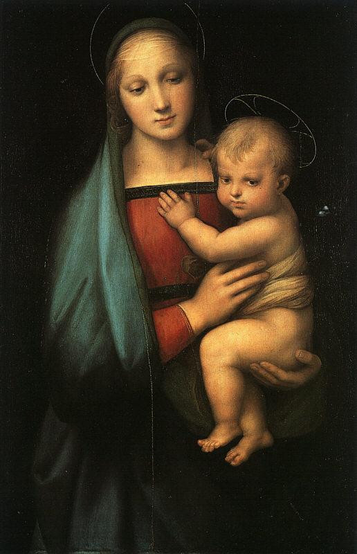 Raphael Madonna Child ff France oil painting art