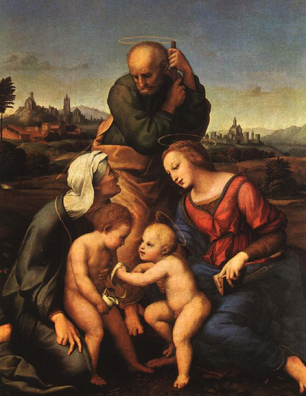 Raphael The Canigiani Holy Family France oil painting art