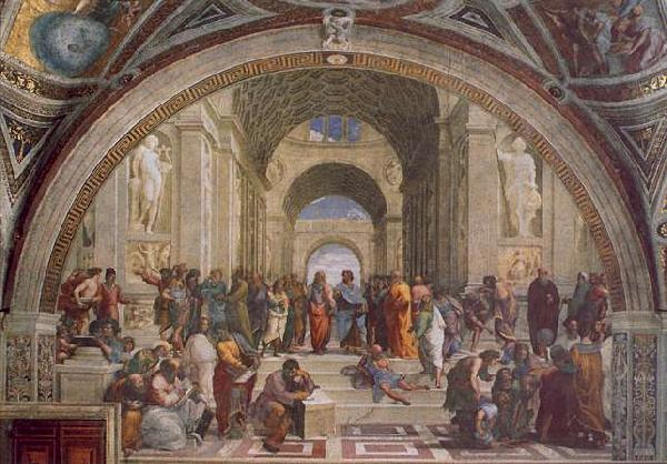 Raphael The School of Athens France oil painting art