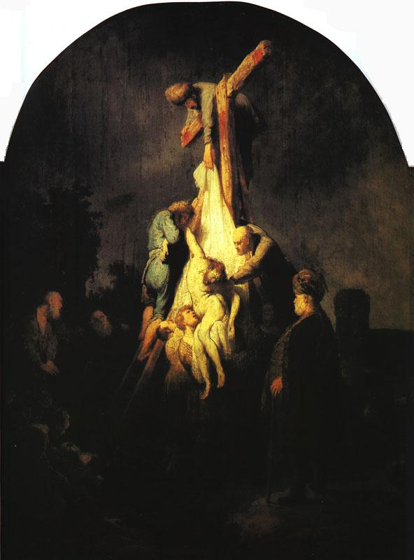 Rembrandt The Descent from the Cross France oil painting art