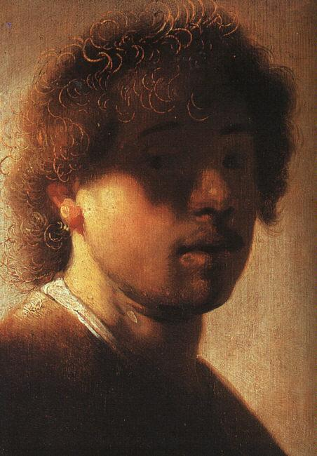 Rembrandt Self Portrait  ffcx France oil painting art